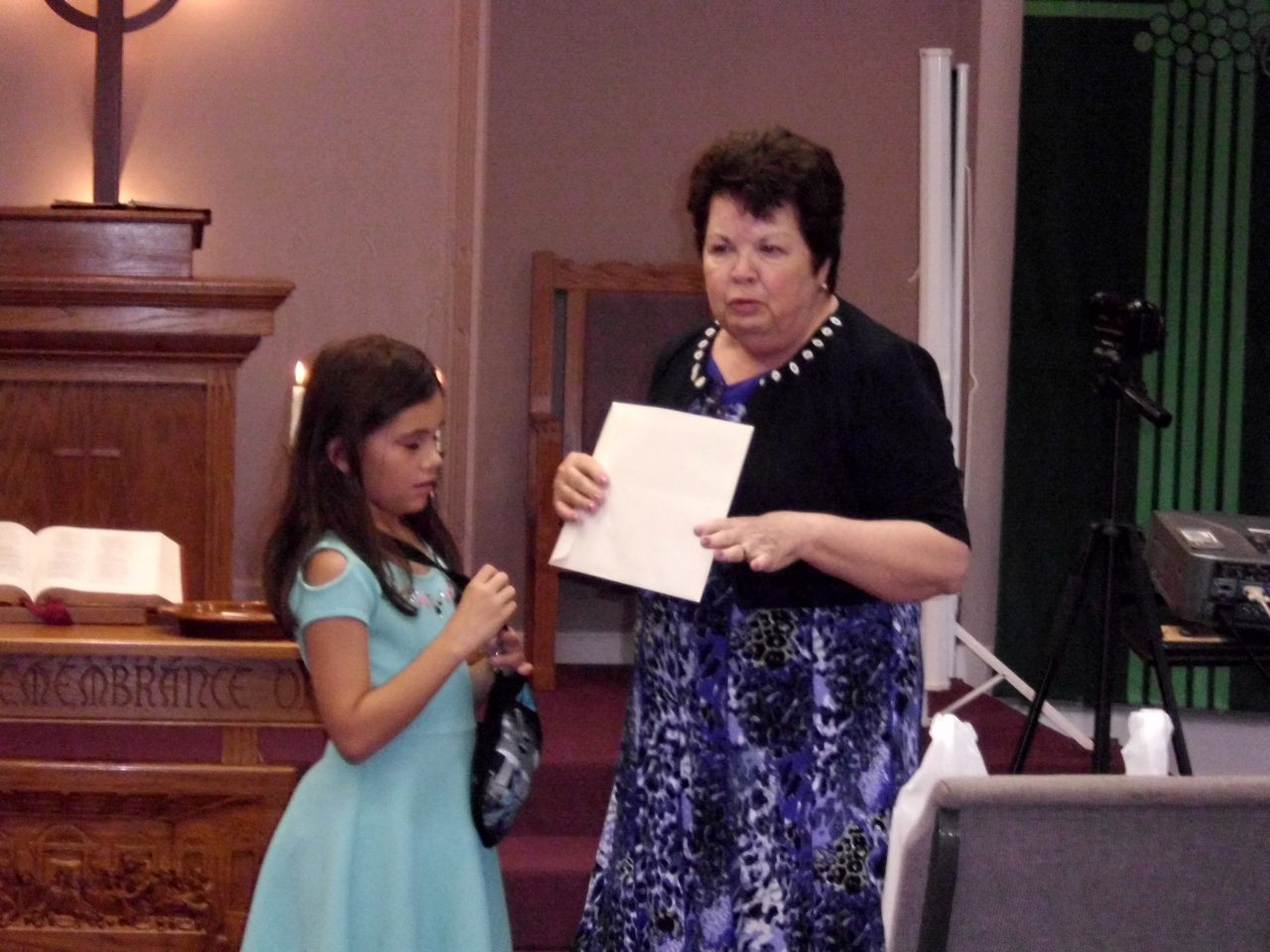 Isabelle Hazen Graduated from Church School Program, September 2018